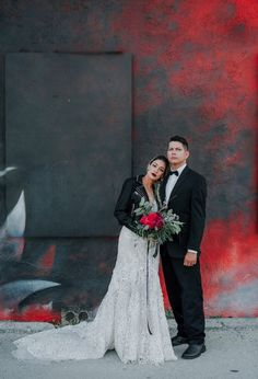 rock and roll wedding- Lindsey Morgan Photography