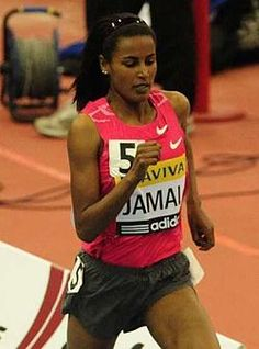 At the 2012 Olympic Games in London, England, for the first time in Olympic history, every country competing included female athletes Saudi Arabia included two female athletes in its delegation; Qatar, four; and Brunei, one (Maziah Mahusin, in the 400m hurdles). Qatar made one of its first female Olympians, Bahiya al-Hamad (shooting), its flagbearer at the 2012 Games.