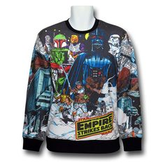 Remember the Star Wars comic books from the They are back on one awesome shirt. This Star Wars Comic Hoth Ringer Sweatshirt is overflowing with all of your