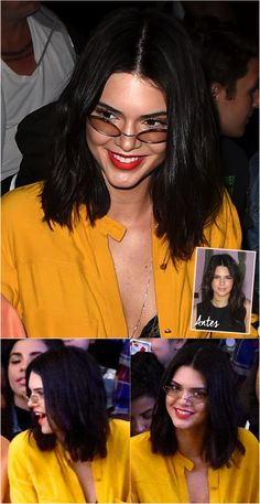 O novo corte de cabelo - curto! - da Kendall Jenner! - Fashionismo