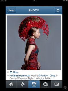 Couture Headpieces by Oscar Daniel