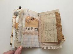 Tsunami Rose Designs: DT Project: Beth Wallen- Vintage Mini Junk Journal using various Ephemera Packs