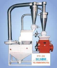 Fully automatic mini grain milling machines with round sieve