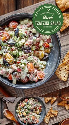 Greek Tzatziki Salad