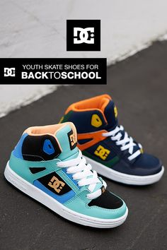 b0daa3bde0ba0d Shop DC s Youth Skate Shoes for Back to School. Built with durability and  style