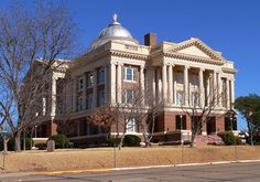Anderson County Courthouse in Palestine