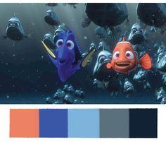 Marlin & Dory Color Palette