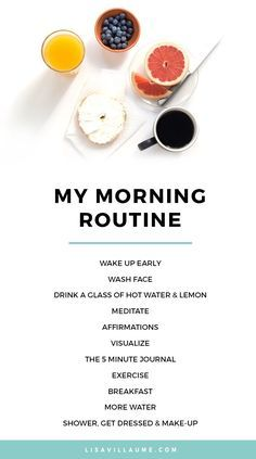 Life changing morning habits and why to do them.