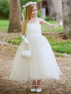 Cheap children dress clothes, Buy Quality dress children girl directly from China dress zara Suppliers: welcome to our store2016 Sweetheart Spaghetti Straps Beading Ankle-Length Tulle Ball Gown Flower Girl Dresses Prom Dre