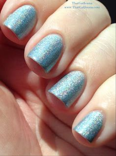 ThatGalJenna - Octopus Party Nail Lacquer Review and Swatches - Twice as Ice - indirect sunlight