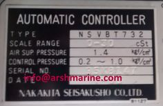 Nakakita NSVBT 732 Pressure Controller www.arshmarine.com