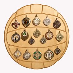 Our Gaelic Football medal display available at www.touchwood.ie