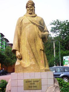 Statue of Samory Touré, Conakry, Guinea Guinea Conakry, French Guinea, French West Africa, Guinea Bissau, Ivory Coast, The Republic, Sierra Leone, Ghana, Black History