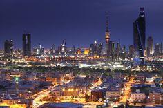 Kuweit city skyline
