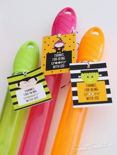 Non-candy Halloween Favors by Sweet Scarlet Designs