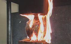 Hydraulic Press Crush Napalm + Rubberband ball + Fire Work ( Explosion )