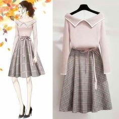 Teen Fashion Outfits, Girly Outfits, Cute Fashion, Asian Fashion, Look Fashion, Chic Outfits, Pretty Outfits, Girl Fashion, Fashion Dresses