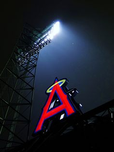 At Angels Stadium, Anaheim CA. by Harvey-Harv, via Flickr