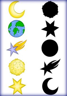 Space Theme Preschool, Preschool Worksheets, Preschool Learning, Learning Activities, Preschool Activities, Teaching Kids, Solar System Activities, Space Activities, Space Projects