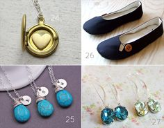 bridesmaid gifts shoes jewelry