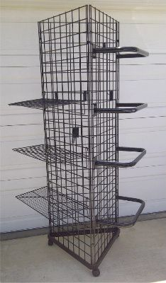 Wire Rack Tower Display