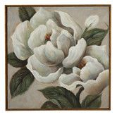 Found it at Wayfair - Magnificent Magnolia Framed Painting Print on Canvas- little wall