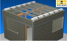 PROCESO CONSTRUCTIVO DE LOSAS DE VIGUETA Y BOVEDILLA      Este   sistema   constructivo   tiene la ventaja de construir losas   sin   cimb...