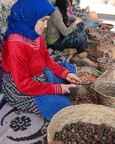 argan oil making in Morocco #YankeeCandleOfficial #GrandBazaar