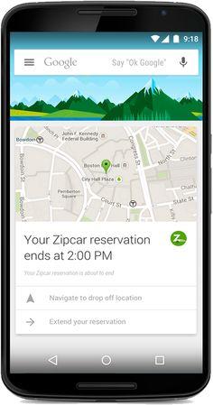 Google Now añade tarjetas de más de 70 nuevas aplicaciones