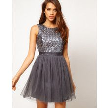 Lipsy Ballerina Dress With Sequin Bodice