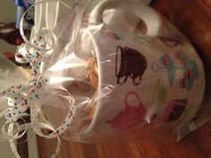 "Bridal shower Party Favor...fill with kisses and a tag that reads ""see you at the kiss"""