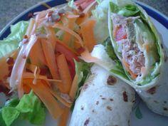 Adelgaza sin culpas: Receta de Wrap de atún rico para degustar. http://www.saborcontinental.com/2009/07/recetas-para-adelgazar-recetas-de-wraps-wrap-de-atun/