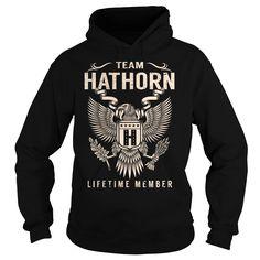 Team HATHORN Lifetime Member - Last Name, Surname T-Shirt