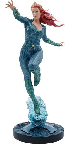 Mera Statue from aquaman dc comics Aquaman, Dc Comics Art, Fun Comics, Mera Dc, Superhero Villains, Female Superhero, Body Gestures, Univers Dc, Female Reference