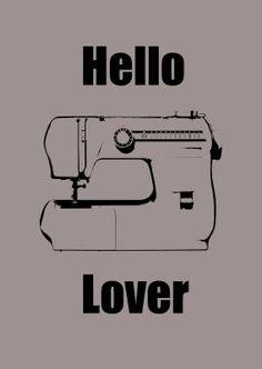 Missie Krissie: Hello Lover ::Sewing Machine:: *Printable*