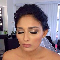 Bridal make up Cancún