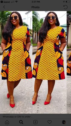 Short African Dresses, Latest African Fashion Dresses, African Print Fashion, African Wear, African Style, African Print Skirt, Ankara Styles, Fashion Outfits, Womens Fashion