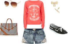 """""""Boat Attire"""" by nicolehornbuckle on Polyvore"""