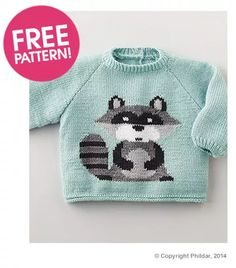 Phildar Raccoon Jumper Pattern   Deramores