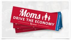 FREE Moms Drive The Economy Sticker on http://www.icravefreebies.com
