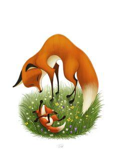 ArtStation - Mother Fox, Nikolaj Djatschenko