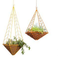 Designer Pots: Hedge Hanging Planter - Potted Los Angeles