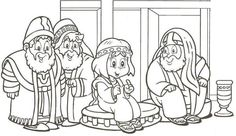 Preschool Bible Crafts On Pinterest Bible Crafts Sunday Jesus At The Temple As A Boy Coloring Page Free