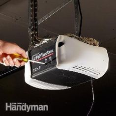 garage door won't open? with a little troubleshooting you can usually avoid a costly service call and get your garage door opener working again in no time. Garage Door Opener Installation, Garage Door Opener Repair, Garage Door Remote, Diy Garage, Garage Storage, Garage Doors, Garage Ideas, Door Ideas, Garage Gate