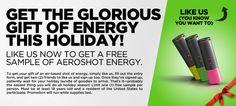 AeroShot Energy Glorious Gift of Energy   Bargain Hound Daily Deals