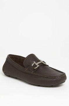Salvatore Ferragamo 'Daverio' Driving Shoe (Men) available at #Nordstrom