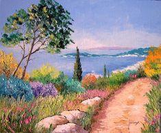 Яркие картины французского импрессиониста Jean-Marc Janiaczyk.