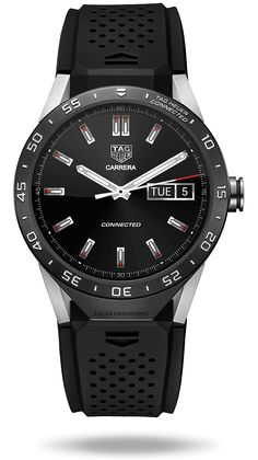 TAG Heuer Connected Watch - http://poshist.com/2015/11/tag-heuer-connected-watch/