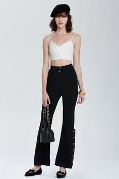 Vintage Chanel Hyères Knit Pant