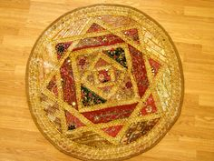 Vintage Moroccan Boho Tapestry Table Runner Table Centerpiece Moroccan Linen by Ageless Alchemy via Etsy.